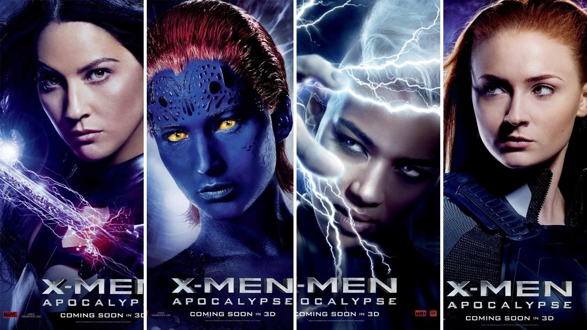 New Character Posters Released For XMen ApocalypseX Men Girl