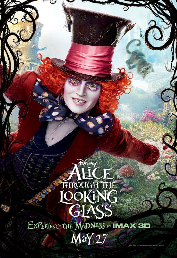 Alice Through The Looking Glass_IMAX Poster