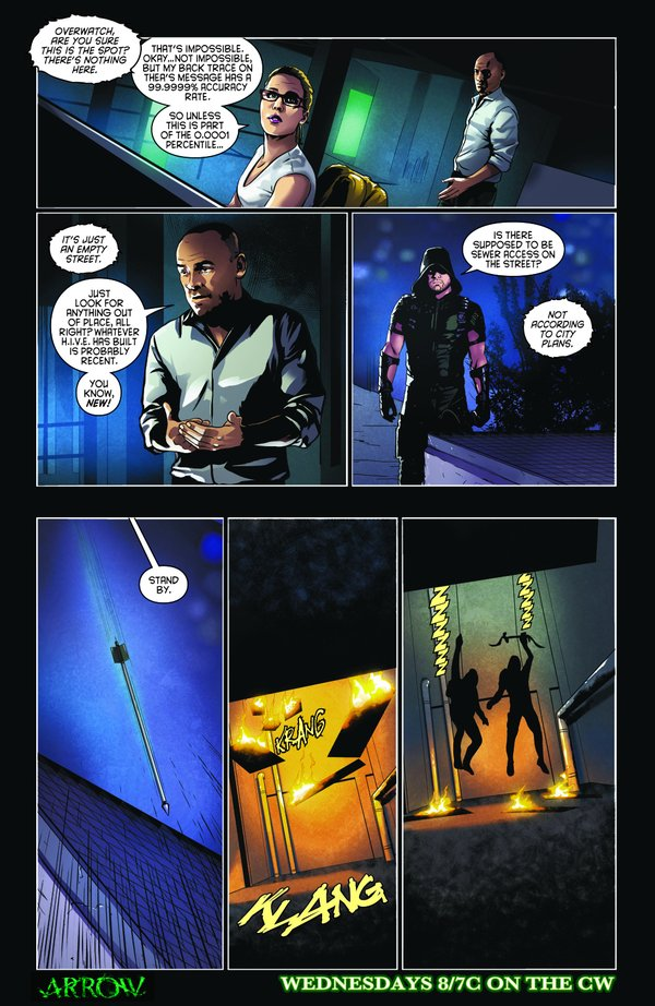 Arrow_S04E22_Lost in the Flood_Comic Preview
