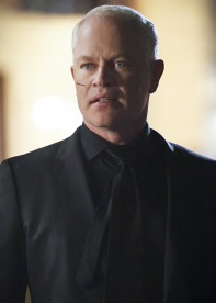 "Arrow -- ""Schism "" -- Image AR423b_0152b.jpg -- Pictured: Neal McDonough as Damien Darhk -- Photo: Bettina Strauss/The CW -- © 2016 The CW Network, LLC. All Rights Reserved."