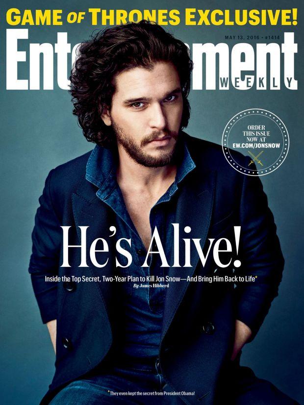 Game of Thrones_Kit Harington_EW Cover