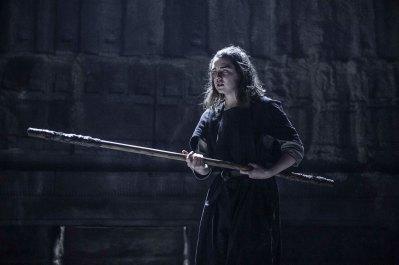 Maisie Williams as Arya Stark. Photo: Helen Sloan/HBO