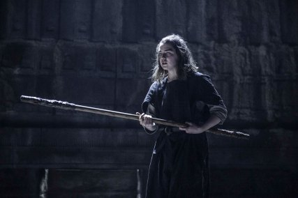 Maisie Williams as Arya Stark. Photo: Helen Sloan/HBO