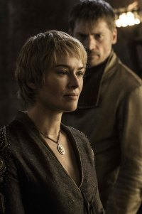 Lena Headey as Cersei Lannister and Nikolaj Coster-Waldau as Jaime Lannister. Photo: Helen Sloan/HBO