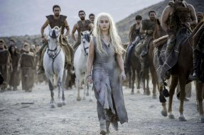 Emilia Clarke as Daenerys Targaryen. Photo: Macall B. Polay/HBO