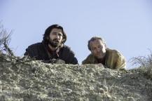 Michiel Huisman as Daario Naharis and Iain Glen as Jorah Mormont Credit: Macall B. Polay/HBO