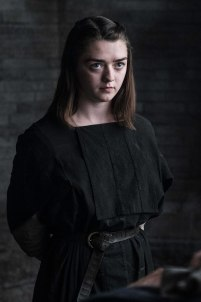 Maisie Williams as Arya Stark. Credit: Helen Sloan/HBO