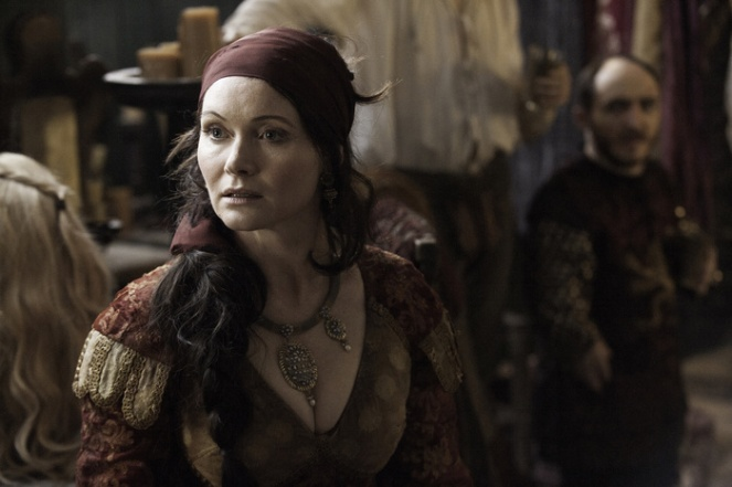 Essie Davis as Lady Crane. Credit: Helen Sloan/HBO