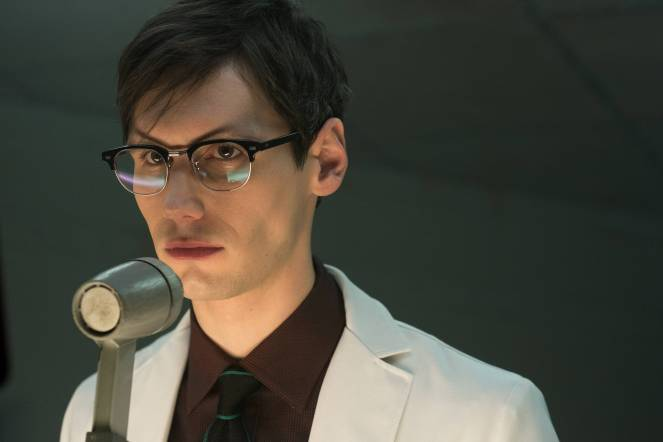 "GOTHAM:  Cory Michael Smith in the ""Wrath of the Villains: A Legion Of Horribles"" episode of GOTHAM airing Monday, May 16 (8:00-9:00 PM ET/PT) on FOX. ©2016 Fox Broadcasting Co. Cr: JoJo Whilden/FOX"