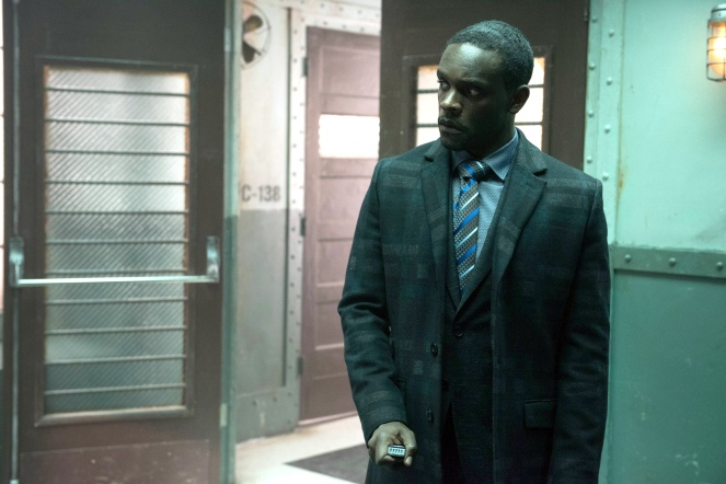 "GOTHAM: Chris Chalk in the ""Wrath of the Villains: A Legion of Horribles"" episode of GOTHAM airing Monday, May 16 (8:00-9:00 PM ET/PT) on FOX. ©2016 Fox Broadcasting Co. Cr: JoJo Whilden/FOX"