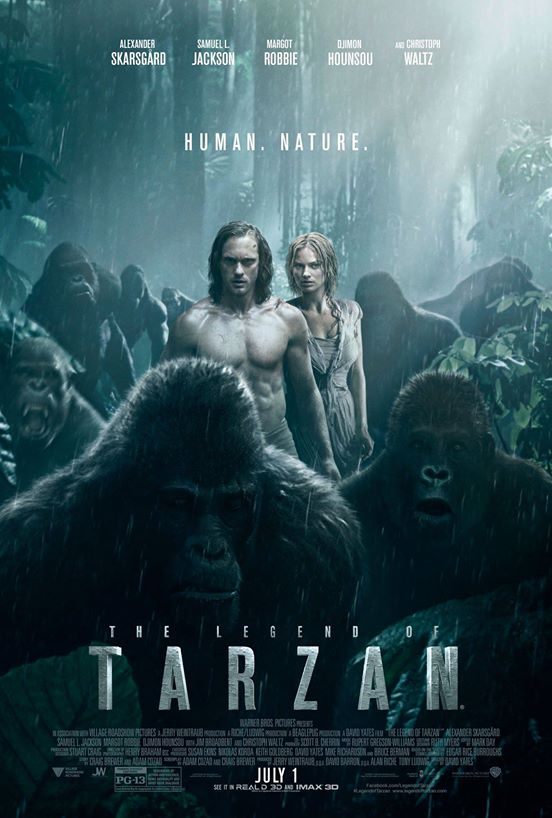 Legend of Tarzan_Poster
