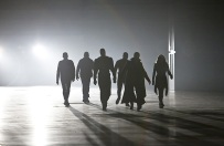 "DC's Legends of Tomorrow --""Destiny""-- Image LGN115b_0182b.jpg -- Pictured (L-R): Wentworth Miller as Leonard Snart/Captain Cold, Dominic Purcell as Mick Rory/Heat Wave, Brandon Routh as Ray Palmer/Atom, Franz Drameh as Jefferson ""Jax"" Jackson, Arthur Darvill as Rip Hunter and Ciara Renee as Kendra Saunders/Hawkgirl -- Photo: Bettina Strauss/The CW -- © 2016 The CW Network, LLC. All Rights Reserved."