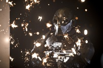 """DC's Legends of Tomorrow -- """"Destiny""""-- Image LGN115a_0104b.jpg -- Pictured: Chronos -- Photo: Cate Cameron/The CW -- © 2016 The CW Network, LLC. All Rights Reserved."""