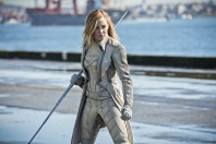 "DC's Legends of Tomorrow --""Legendary""-- Image LGN116b_0377b.jpg Pictured: Caity Lotz as Sara Lance/White Canary -- Photo: Dean Buscher/The CW -- © 2016 The CW Network, LLC. All Rights Reserved."