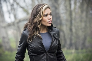 "DC's Legends of Tomorrow --""Legendary""-- Image LGN116a_0305b.jpg -- Pictured: Ciara Renee as Kendra Saunders/Hawkgirl -- Photo: Dean Buscher/The CW -- © 2016 The CW Network, LLC. All Rights Reserved."