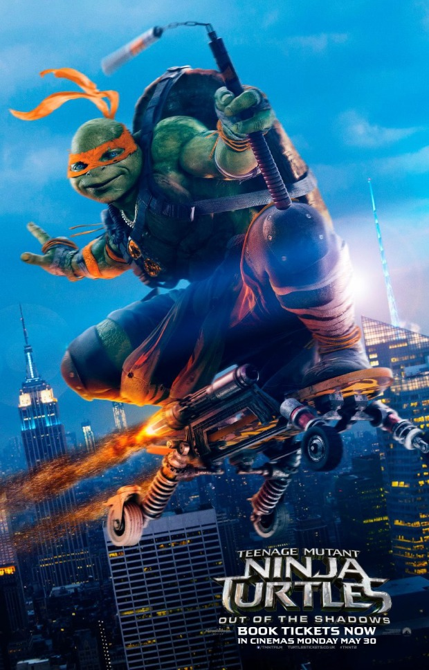 Teenage Mutant Ninja Turtles_Out of the Shadows_Character Poster (1)