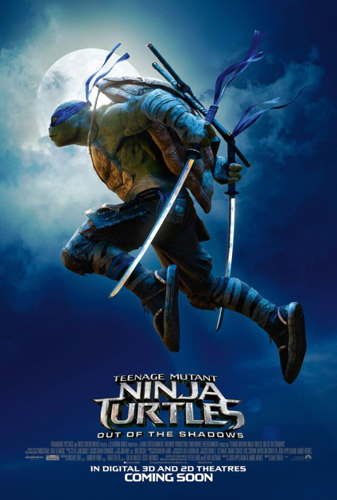 Teenage Mutant Ninja Turtles_Out of the Shadows_Character Poster