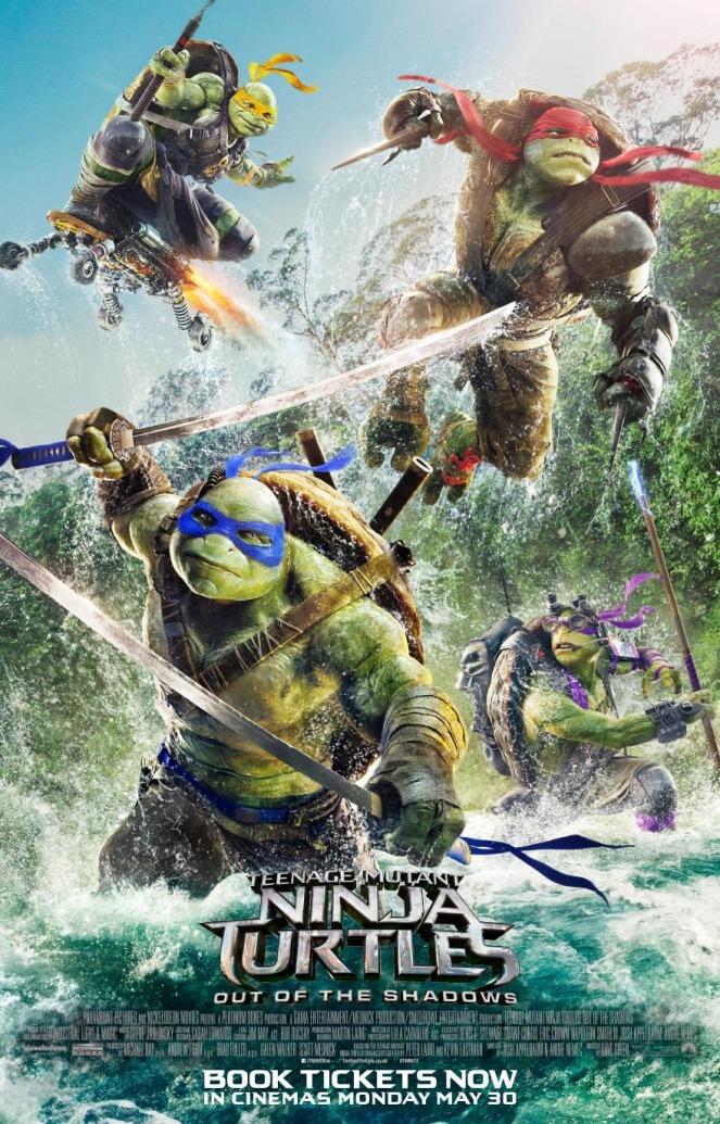 Teenage Mutant Ninja Turtles_Out of the Shadows_Poster
