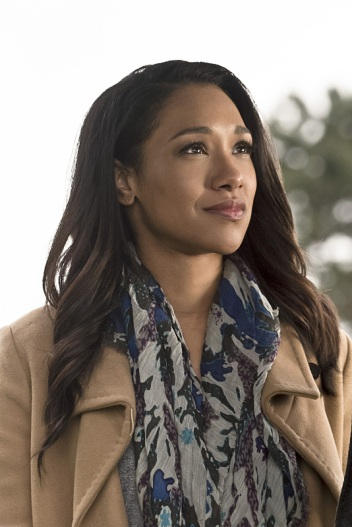 """The Flash -- """" The Runaway Dinosaur"""" -- Image: FLA221b_0176b.jpg -- Pictured: Candice Patton as Iris West -- Photo: Katie Yu/The CW -- © 2016 The CW Network, LLC. All rights reserved."""