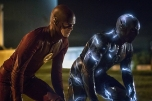 "The Flash -- ""The Race of His Life"" -- Image: FLA223b_0234.jpg -- Pictured (L-R) Grant Gustin as The Flash and Zoom -- Photo: Katie Yu/The CW -- © 2016 The CW Network, LLC. All rights reserved"