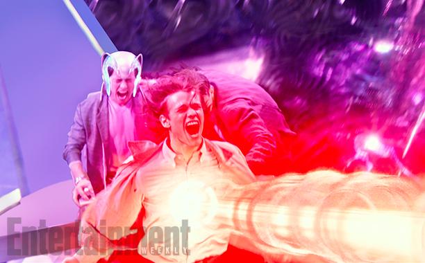 X-Men: Apocalypse (2016) James McAvoy (L) and Lucas Till