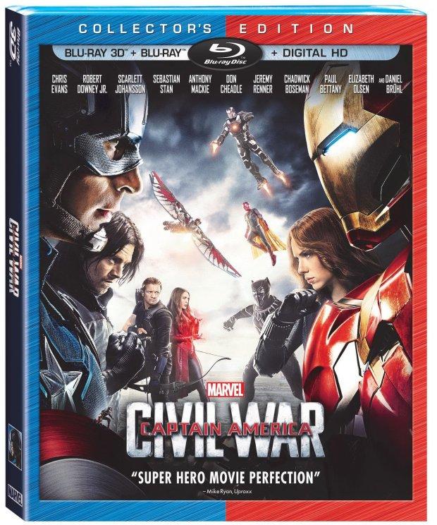 Captain America_Civil War_Collector's Edition
