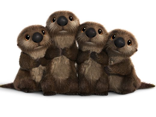 OTTERS are seriously cute. Seriously, who can resist their sweet, furry faces?