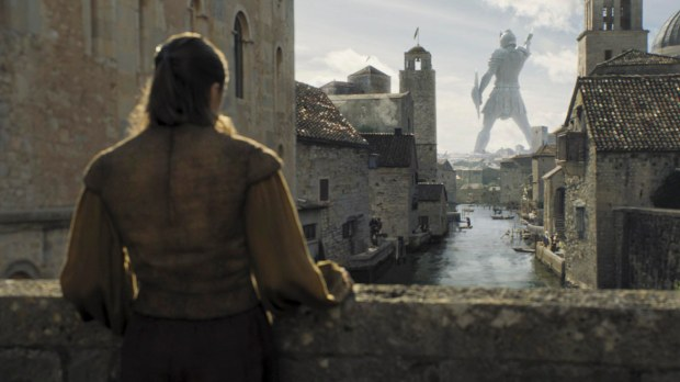 Maisie Williams as Arya Stark. Credit: Courtesy HBO