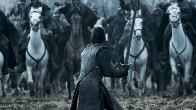 Kit Harington as Jon Snow. Credit: Courtesy HBO