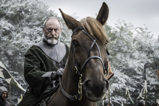 Liam Cunningham as Davos Seaworth. Credit: Helen Sloan/HBO