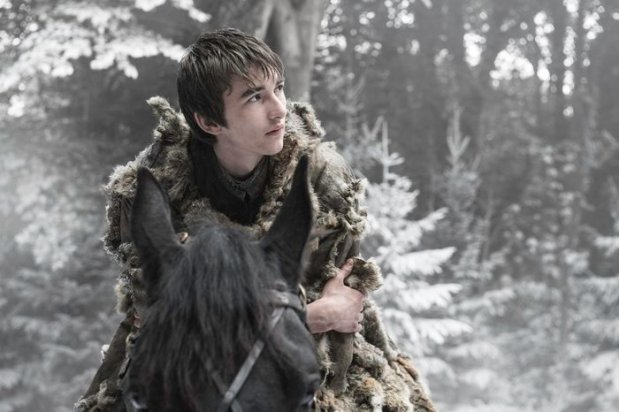 Isaac Hempstead Wright as Bran Stark. Credit: Helen Sloan/HBO
