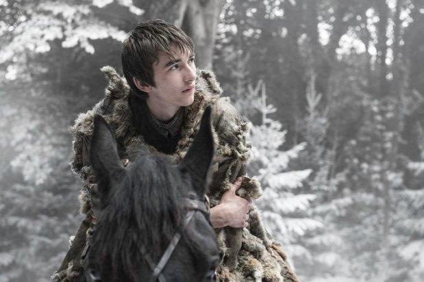 Isaac Hempstead Wright as Bran Stark. Credit: Helen Sloan/HBO