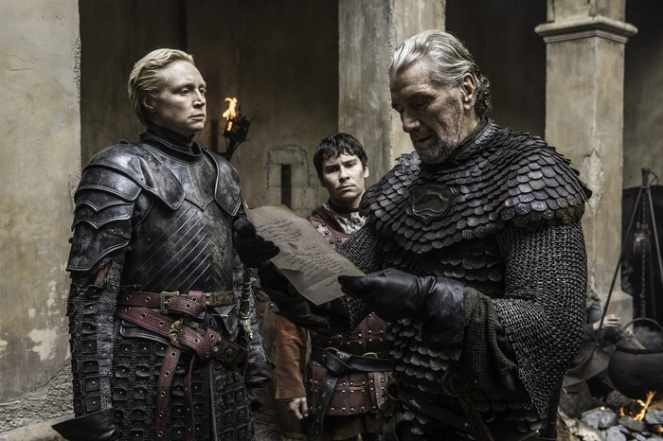 GoT_Brienne and Blackfish