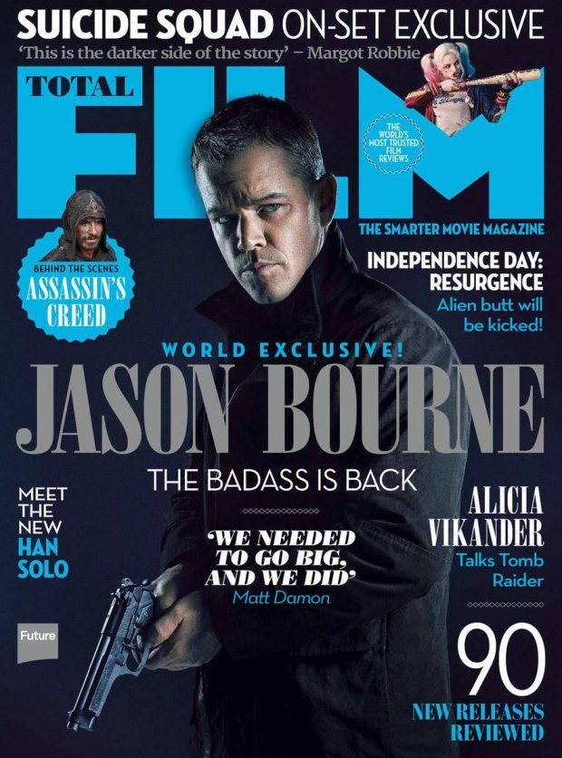 Jason Bourne_Total Film_Cover