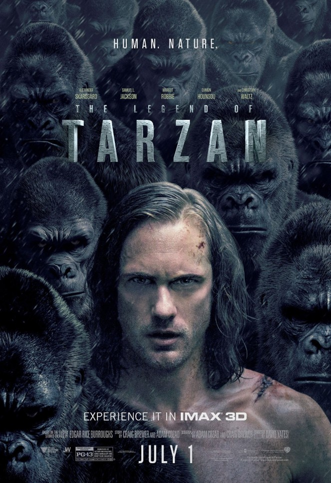 Legend of Tarzan_IMAX Poster