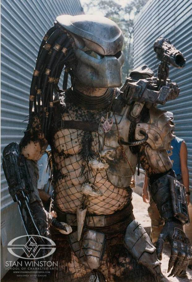 The original Stan Winston Studio Predator suit.