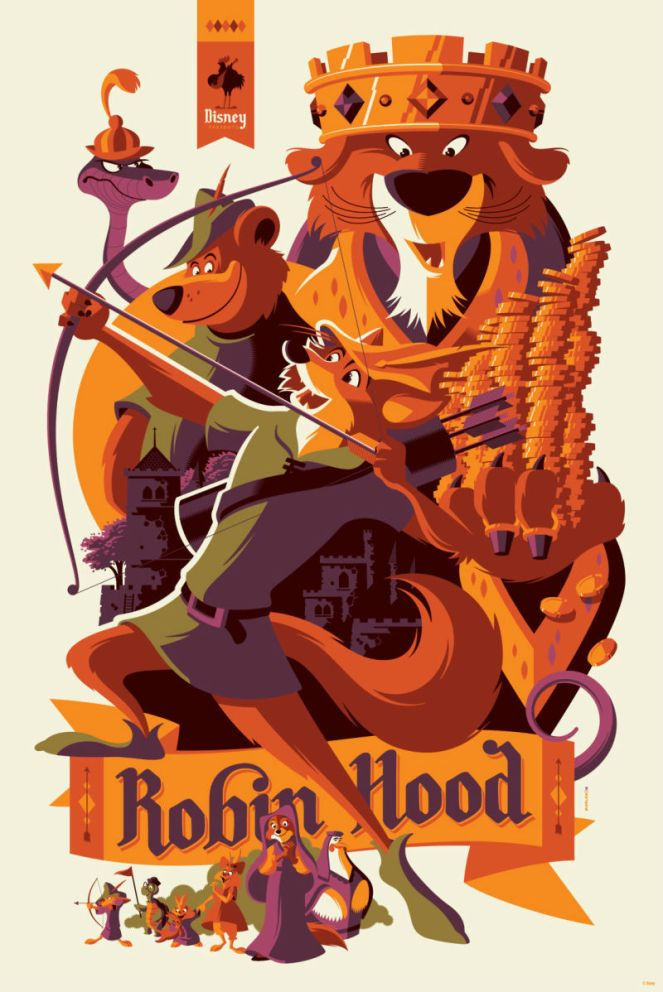 Robin Hood by Tom Whalen