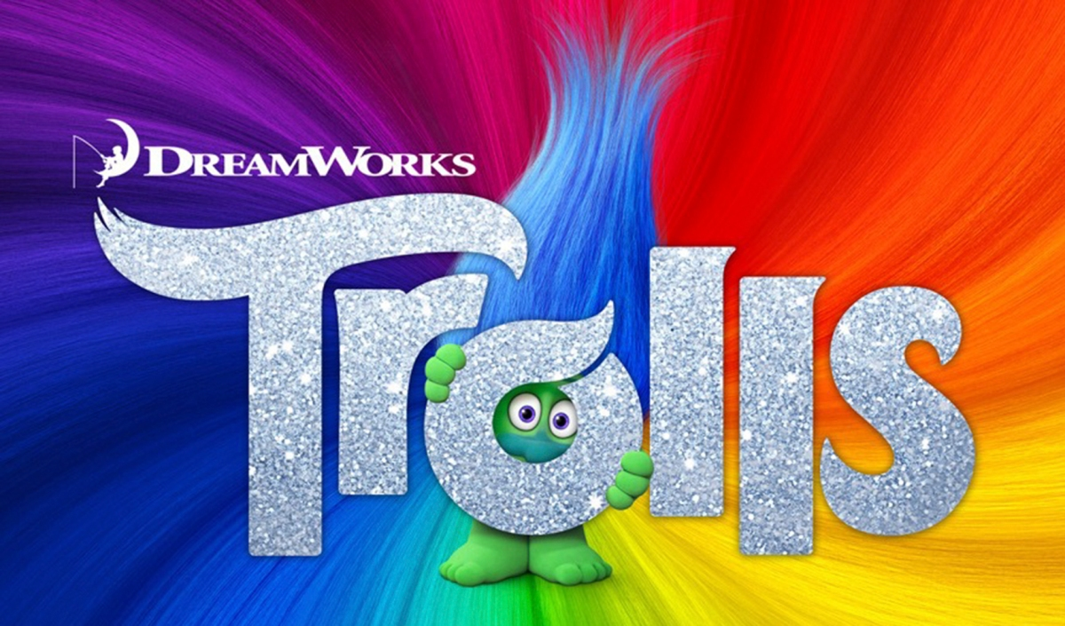 Colorful New Poster For Dreamworks Animation S Trolls