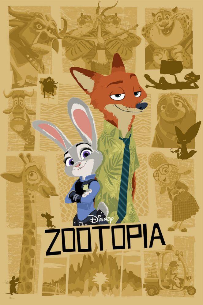 Zootopia by Joe Dunn