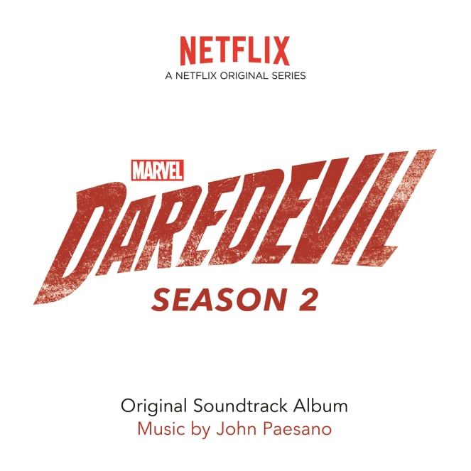 Daredevil_Season 2_Soundtrack Cover Art