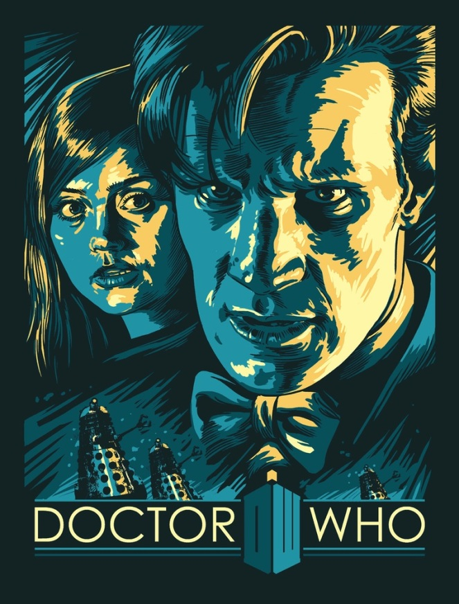 Doctor Who_Print 1_by Alex Zablotsky