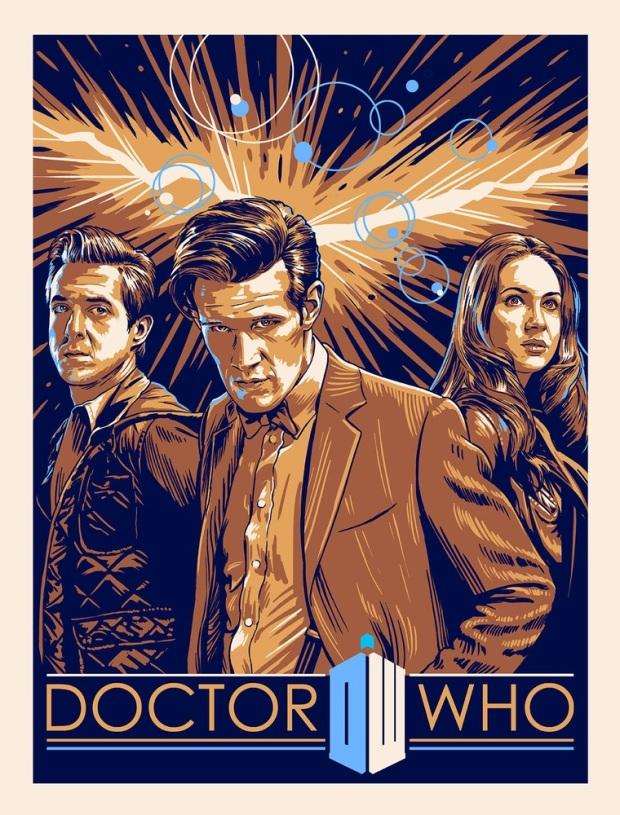 Doctor Who_Print 2_by Alex Zablotsky