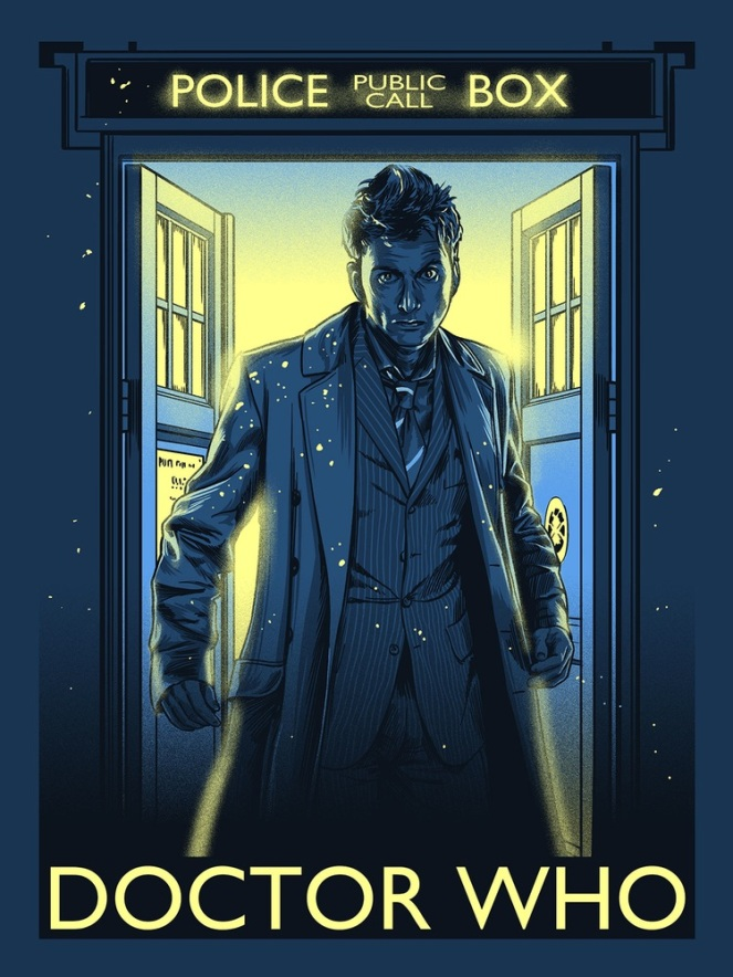 Doctor Who_Print 3_by Alex Zablotsky