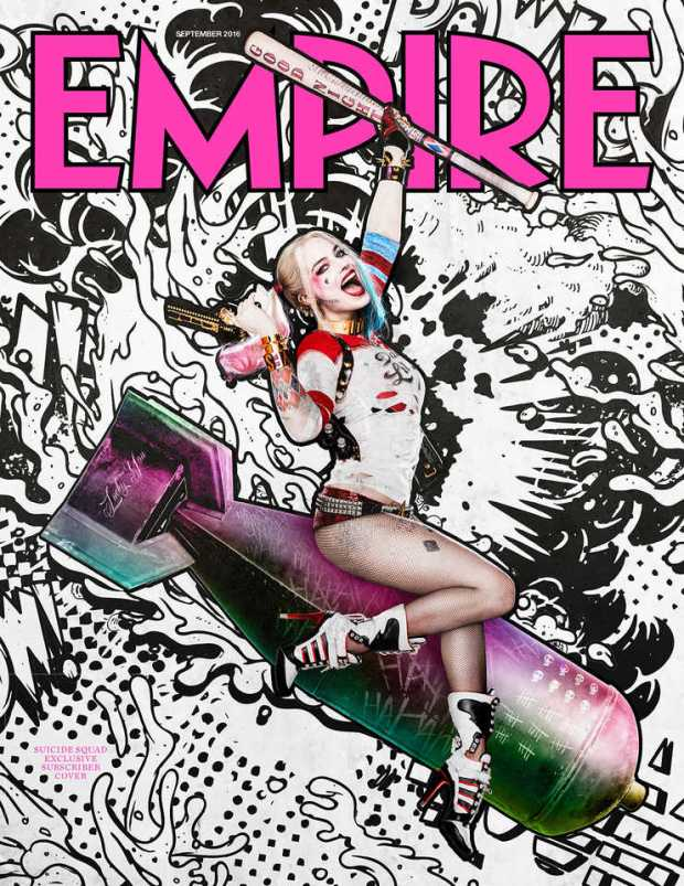 Suicide Squad_Empire Cover_Harley Quinn