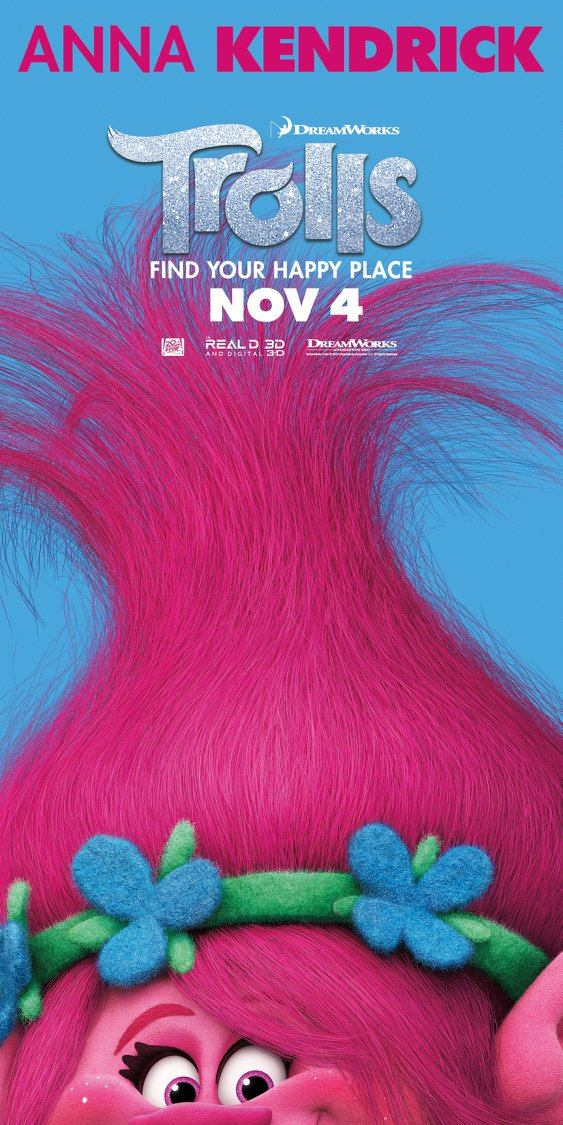 Trolls_Character Poster