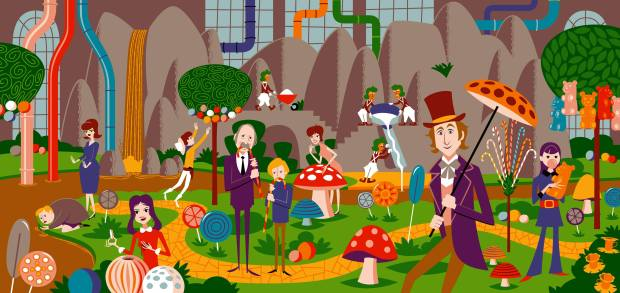 Willy Wonka & the Chocolate Factory_By Shag