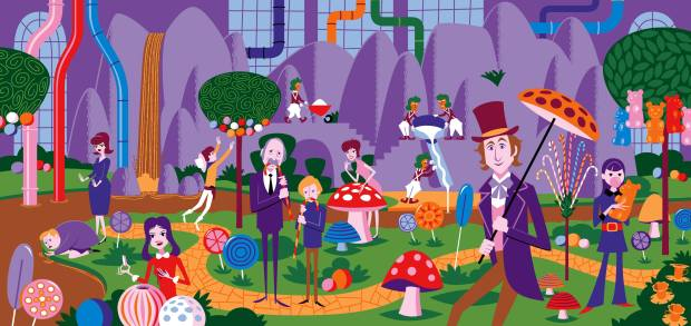 Willy Wonka & the Chocolate Factory_Variant_By Shag