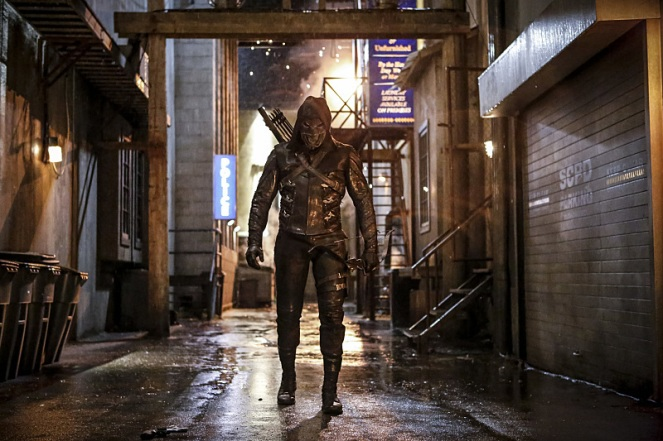 "Arrow -- ""Legacy"" -- Image AR501a_0060b --- Pictured: Prometheus -- Photo: Bettina Strauss/The CW -- © 2016 The CW Network, LLC. All Rights Reserved."