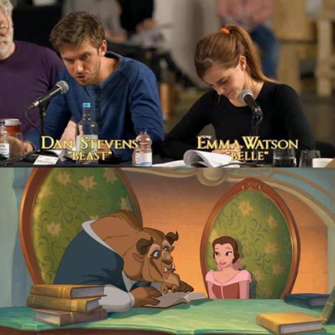 Beauty and the Beast_First Look_Dan Stevens and Emma Watson