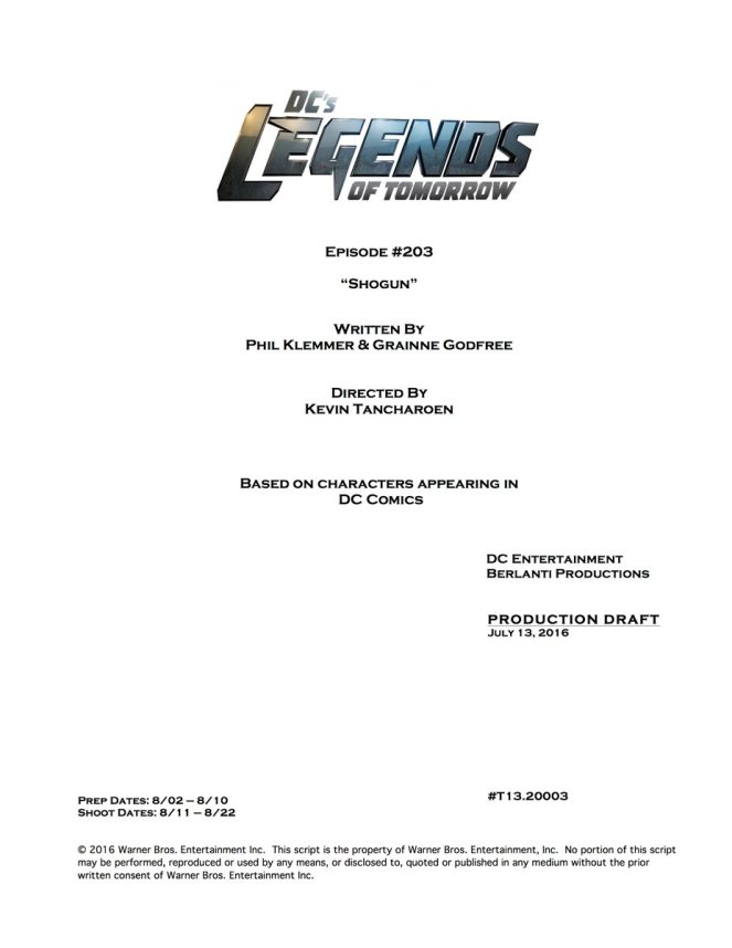 Legends of Tomorrow_Title and Credits_S02E03